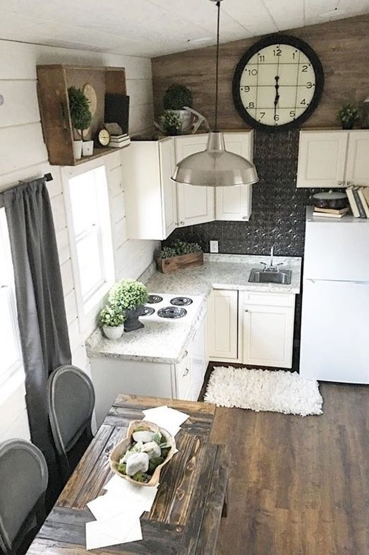 20 Small Kitchen Ideas Ideas To Open Your Compact Room 2019 Page 23 Of 26 My Blog Tiny Farmhouse Tiny House Kitchen Tiny House Living