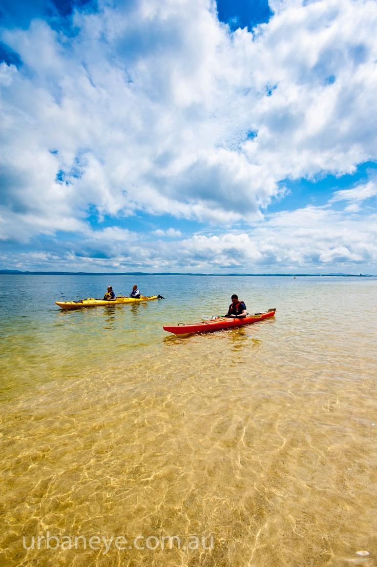 Little Beach near Nelson Bay Port Stephens NSW Australia