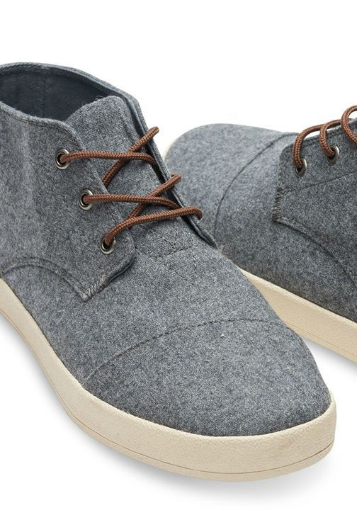8f63486507d Like the look of a high-top but want the ease of a simple lace-up   Featuring wool