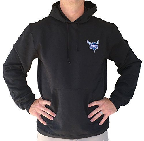 NBA Charlotte Hornets Team Embroidered Logo Sweatshirt Hoodie Medium -- Find out more about the great product at the image link.