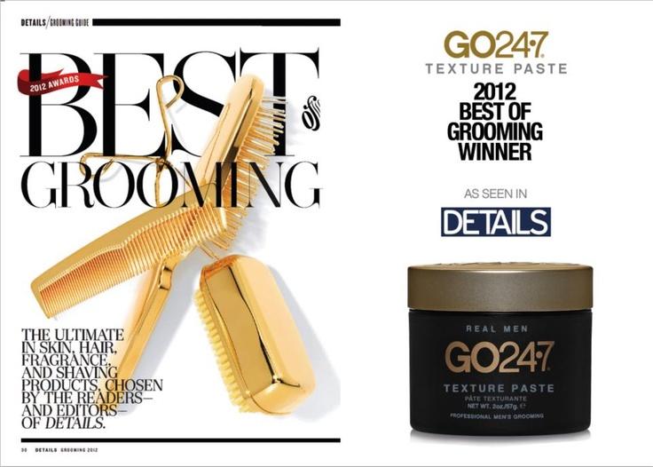 "GO247 Texture Paste-Winner of Details Magazine ""Best of Grooming"""