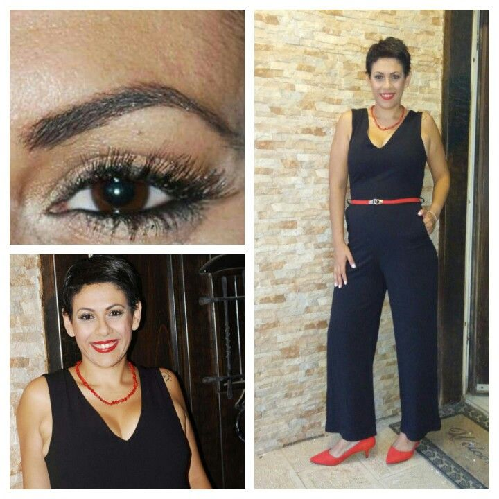 Glamour total look