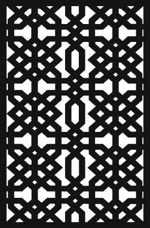 Jaipur screen design from Howkins, Australia.  Other designs available.