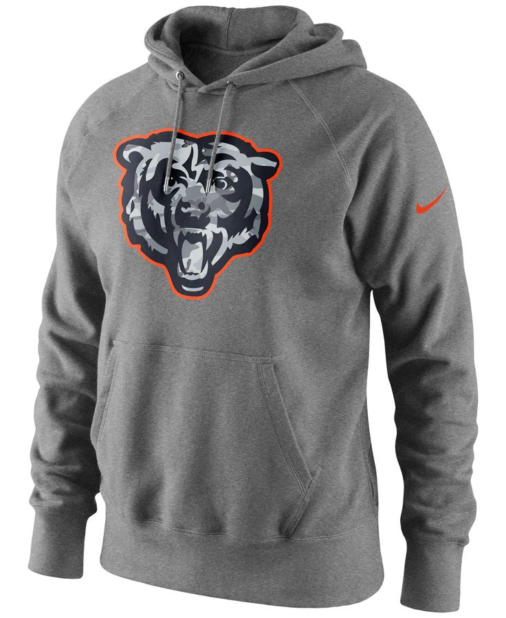 Nike Men's Chicago Bears Fly Over Pack Hoodie