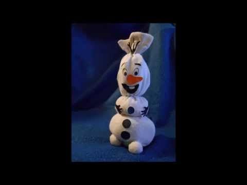Olaf DIY: da calzino a pupazzo di neve! - YouTube