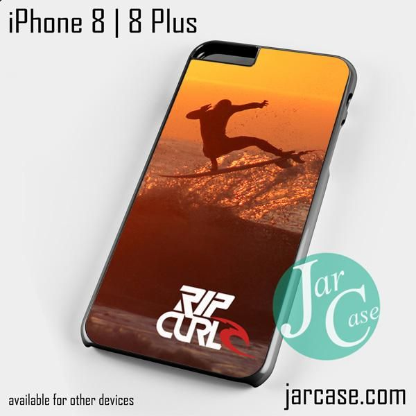 Rip Curl Sunset Surfing Phone case for iPhone 8 | 8 Plus