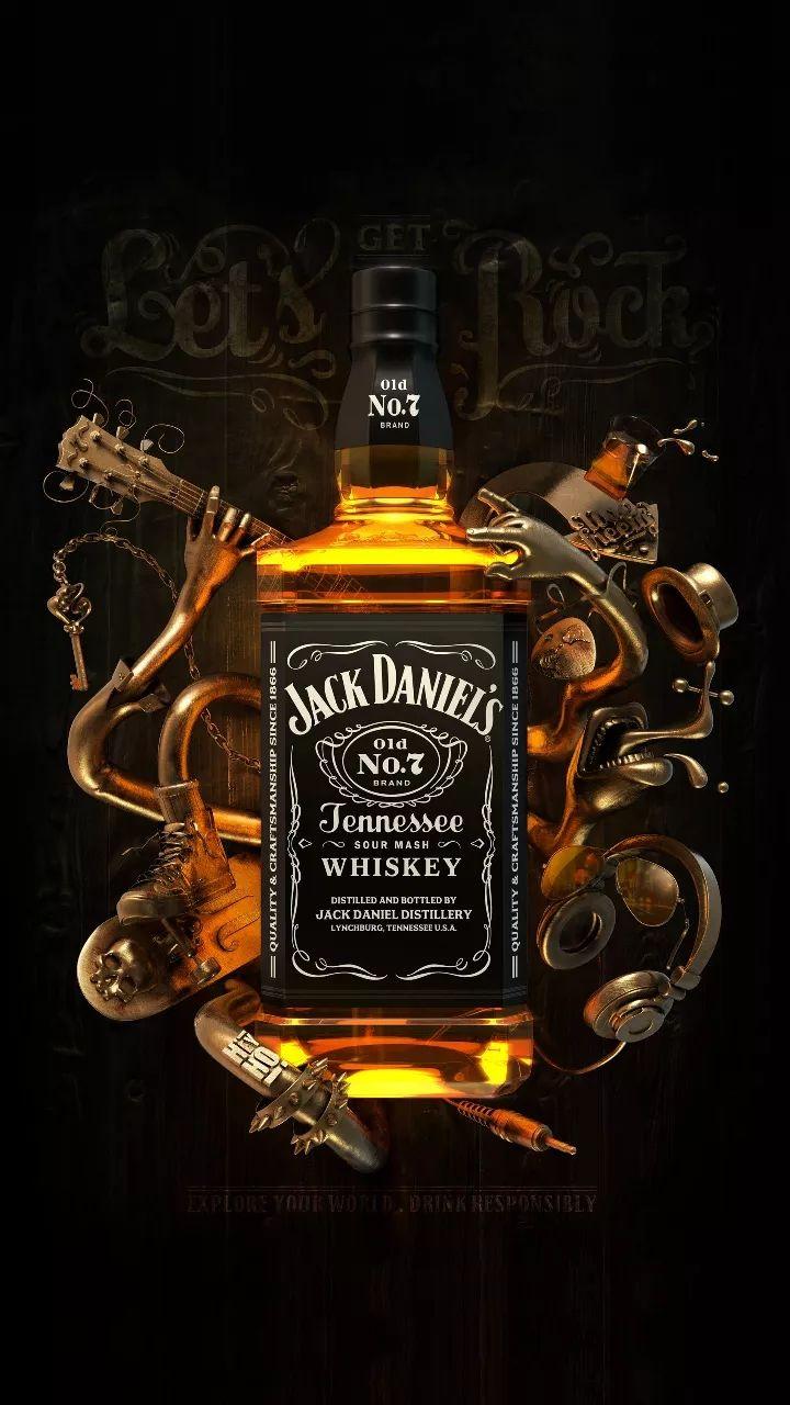 Jack Daniels 9 16 Botella De Jack Daniels Whisky Jack Botellas De Alcohol