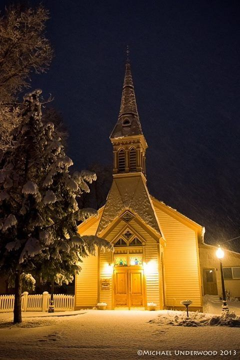 Oldest church west of the Rockies in Lake City, Colorado.