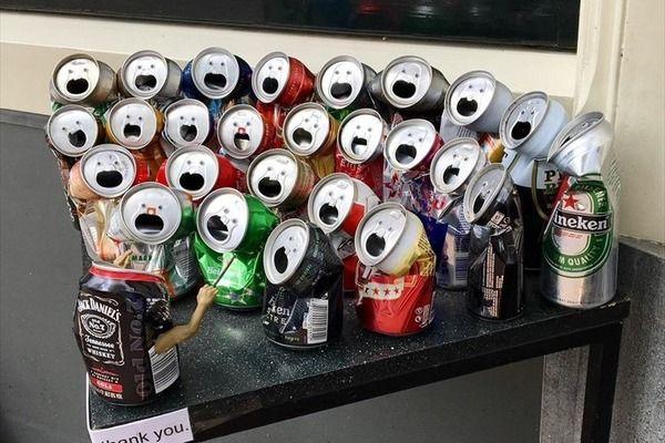 「発想が素晴らしい!!」「なんか癒される」 空き缶の合唱コンクールが話題に!!