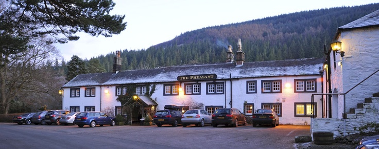 The Pheasant Inn, Bassenthwaite lake, Cumbria .  Next trip to Scotland??