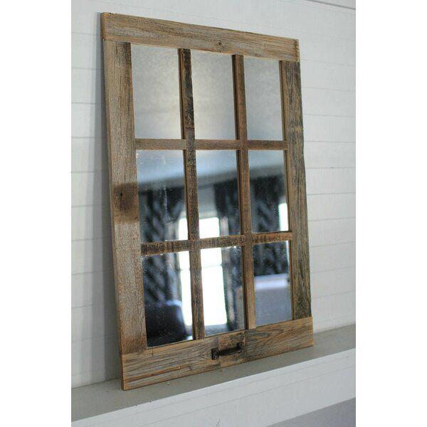 Northampton Farmhouse 9 Pane Accent Mirror In 2021 Accent Mirrors Country Wall Mirrors Mirror Repurpose