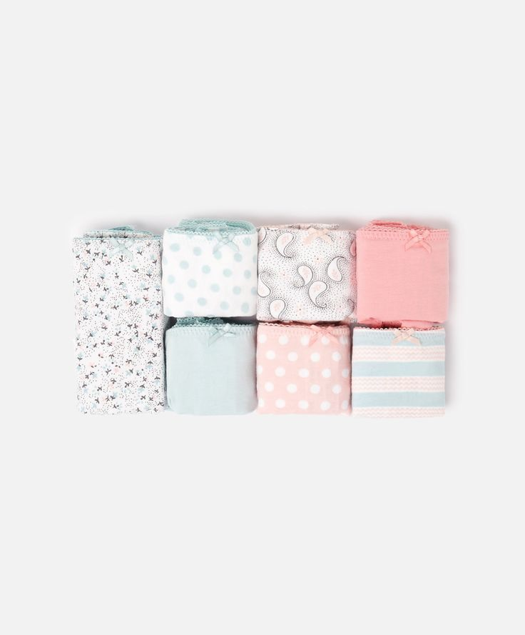 Pack of tiny polka dot Brazilian briefs - OYSHO
