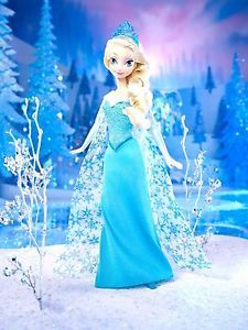 Disney Frozen ELSA Sparkle Doll Classic Princess Of Arendelle