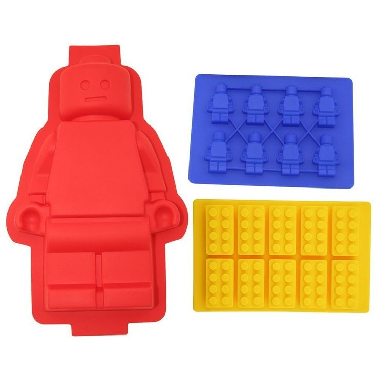 Lego Cake Pan and Ice Mold