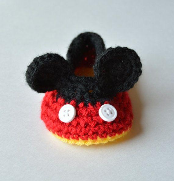 Disney Mickey Mouse baby slofjes, wieg schoenen, schattige nieuwe baby of baby douchegift, pasgeboren foto Prop, Baby fotografie Prop