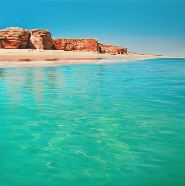 Broome - check the colour of the water!