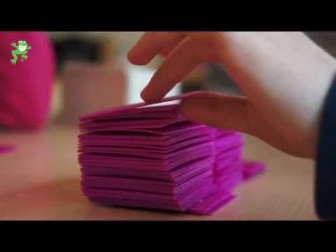 Uitleg van het spel 'Erop of eronder'. Doel: begrijpen van de decimale structuur van getallen en om een sprong van 10 te kunnen maken van een willekeurig getal.
