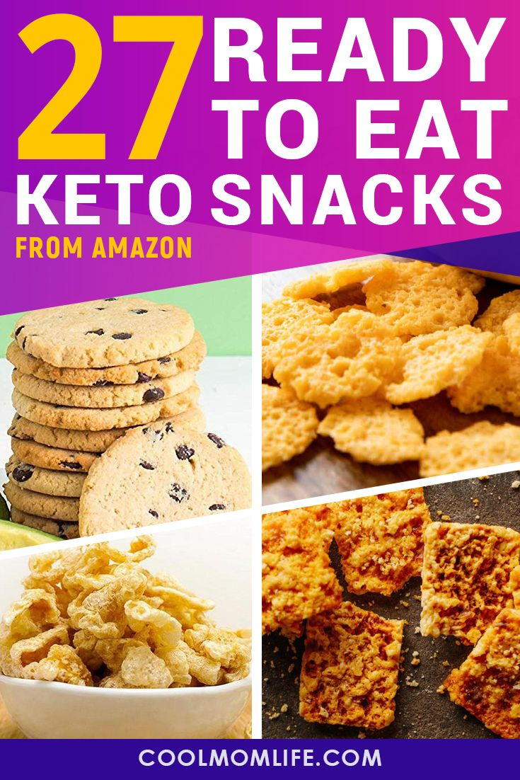 27 Keto Snacks: Best Low Carb Snacks to Buy on Amazon for
