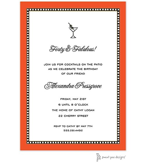 The 25 best Cocktail party invitation ideas – Toga Party Invitation
