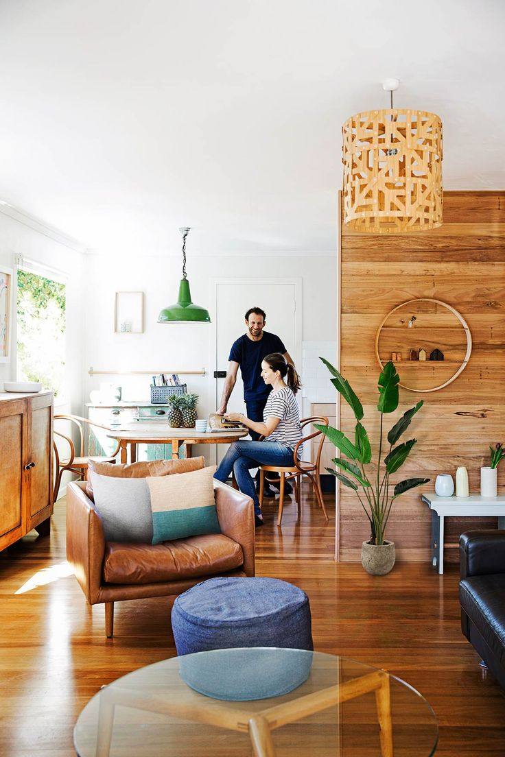 DIY renovators, Rachel and Rob, have transformed what was once a dated 60s house into an eco-friendly home with a fresh Scandi-style interior. Photography: James Henry   Story: homes+