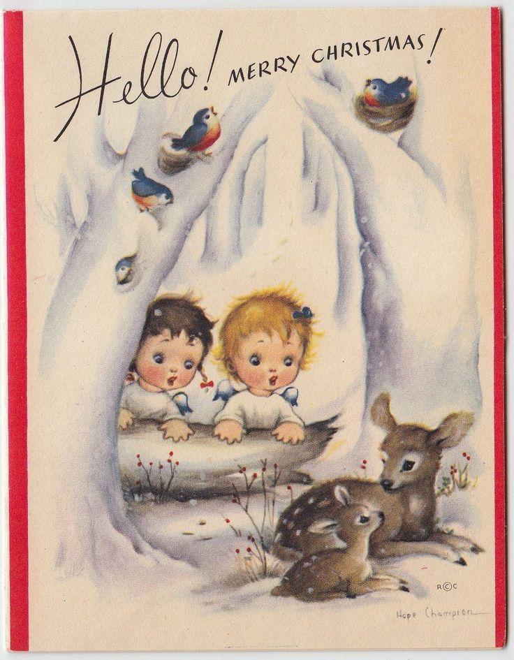 """Hello!  Merry Christmas!"""