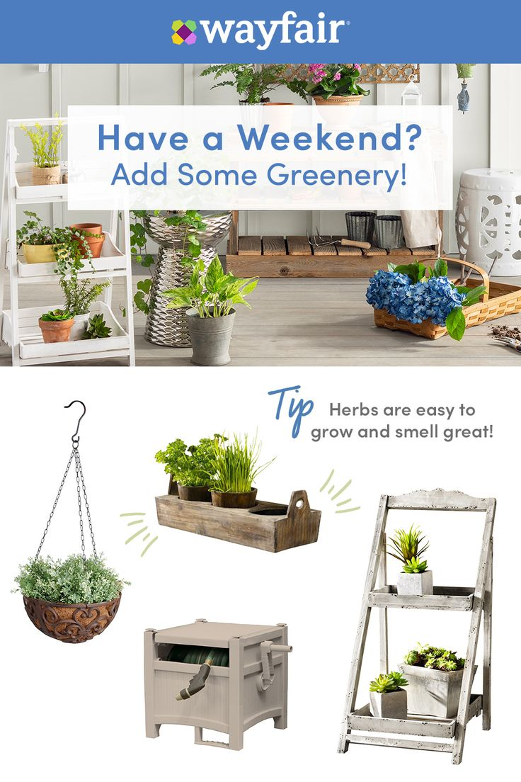 Wayfair has all of your outdoor and garden needs! From ...