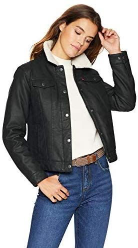 Chic Levi s Women s Classic Sherpa Lined Trucker Jacket online.   72.99   fgofashion from top store 4462a3728
