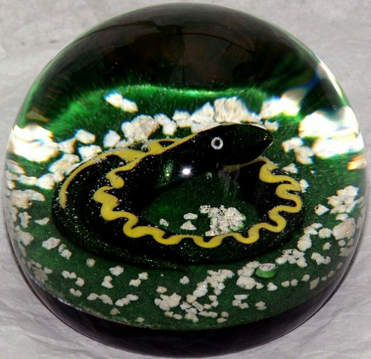 Paul Ysart paperweights,Caithness Glass from the early 60s