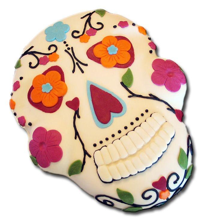 DotD cake.Cake Ideas, Sugar Skull, Of The, Eating Cake, Halloween Cake, Day, Dead, Dead Parties