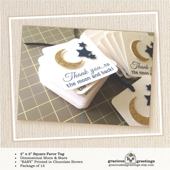 Baby Shower Favor Tag shower baby boy girl by GraciousBeeGreetings