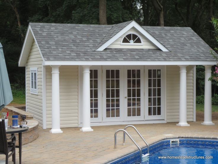 17 Best ideas about Pool Shed on Pinterest Pool house