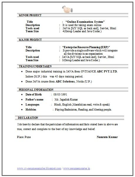 Best 25+ Standard resume format ideas on Pinterest Resume - online resume format
