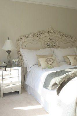 17 beste idee n over chique slaapkamers op pinterest shabby chic shabby chic decoratie en - Shabby chique kamer ...