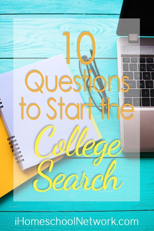 10 Questions to Start the College Search