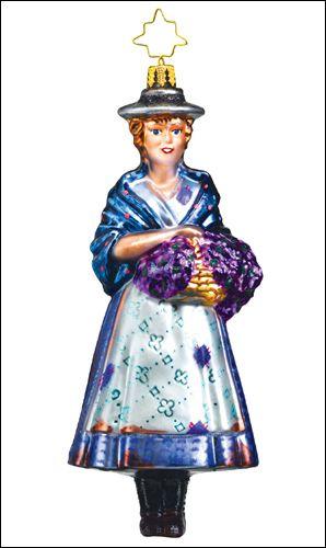 The Broadway Cares Legends Series 2013 - Julie Andrews as Eliza Doolittle Ornament $55.00