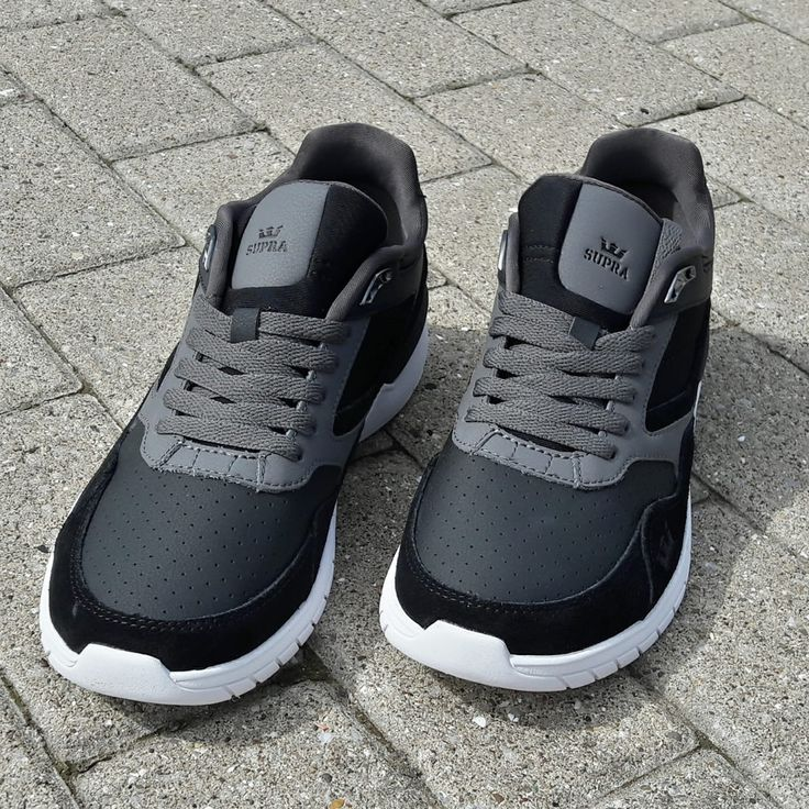 Supra Winslow.  Black and Charcoal. Safe.  Very wearable indeed.