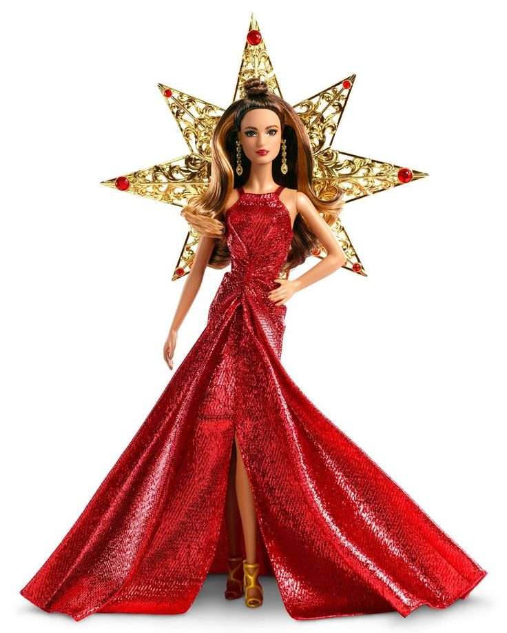 Barbie 2017 Holiday Teresa Doll Brunette Toy Gift For Girls Kids Christmas Gift #Barbie #DollswithClothingAccessories