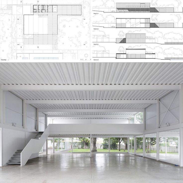 Se trata de la construcción de un salón de usos múltiples que se encuentra en un Club de un Centro Comunitario, localizado en la periferia de la Ciudad de Buenos Aires.