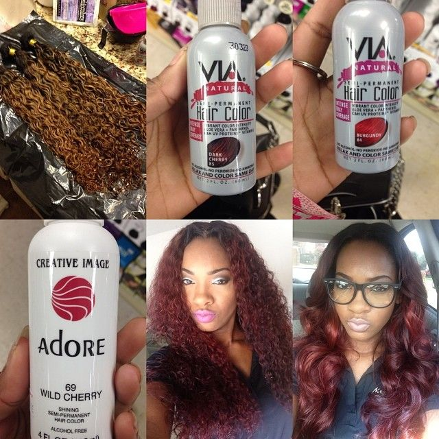 Best 25 brown to burgundy hair ideas on pinterest will brown i lifted hair to this brown color in the first picture colors used in pmusecretfo Gallery