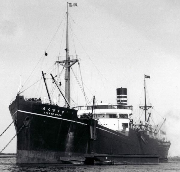 Japanese prisoner ship Lisbon Maru, crammed with 1816 British & Canadian PoWs, has been torpedoed by a US submarine.