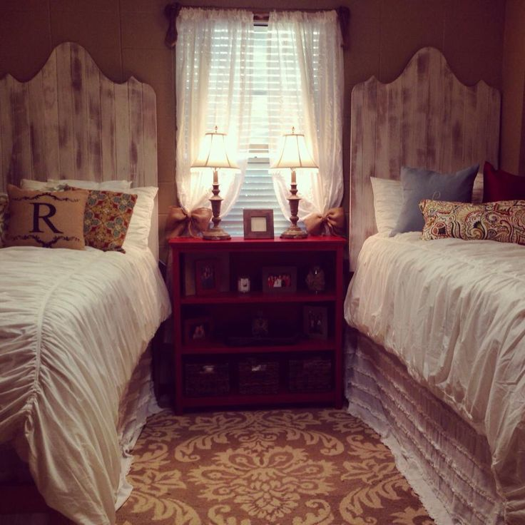 My Ole Miss dorm room in Crosby hall. Pottery barn style