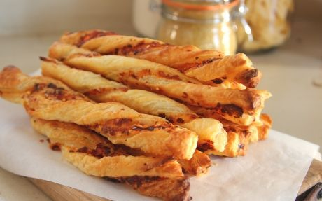 Double Cheese Straws Recipe by Siba Mtongana