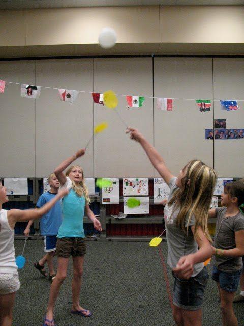 Noteworthy News...: Music Olympics Event: Flyswatter Badminton