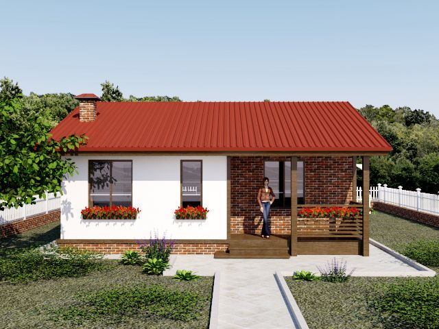 Дом из СИП панелей за 25000 евро