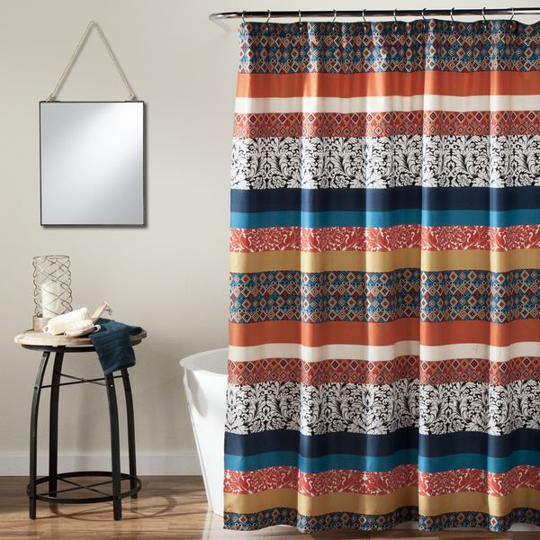 Another Great Find On Soho Stripe Shower Curtain By Lush Decor