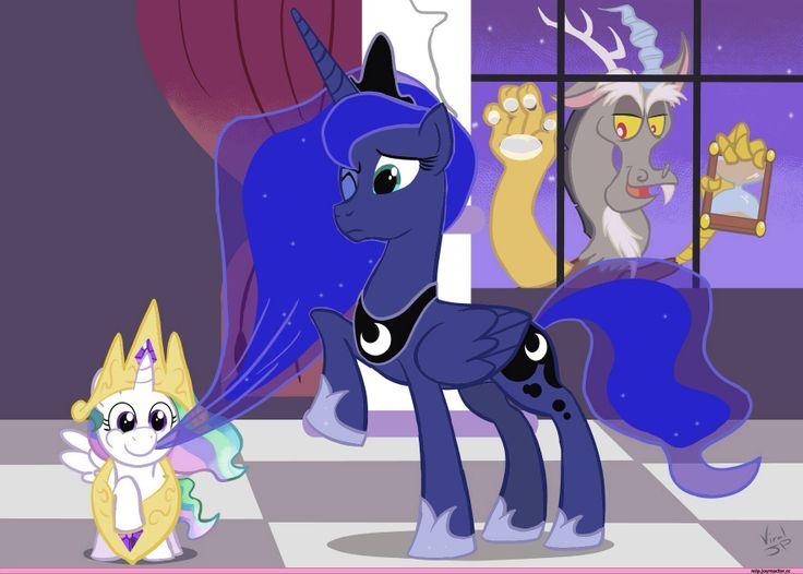 MLP Princess celestia and princess luna  My little pony