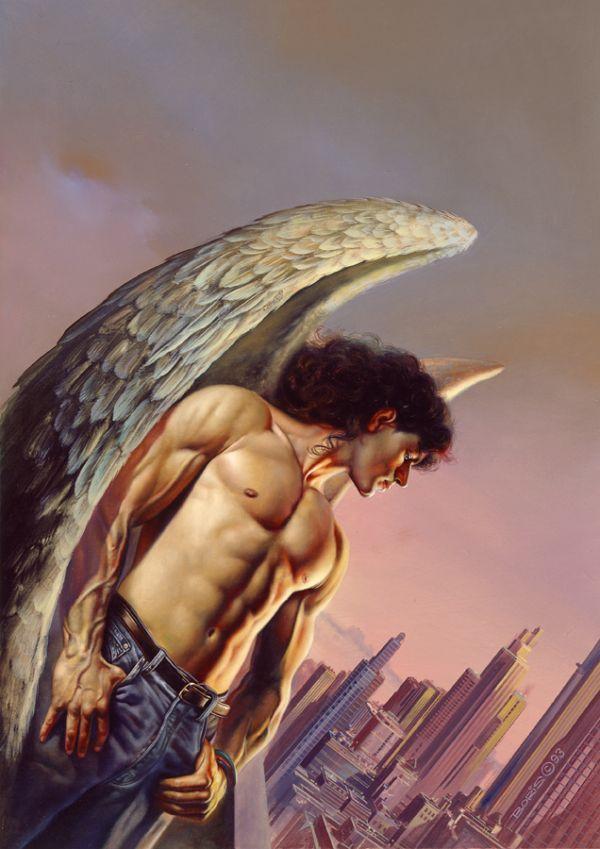 Angel Of The City by Boris Vallejo