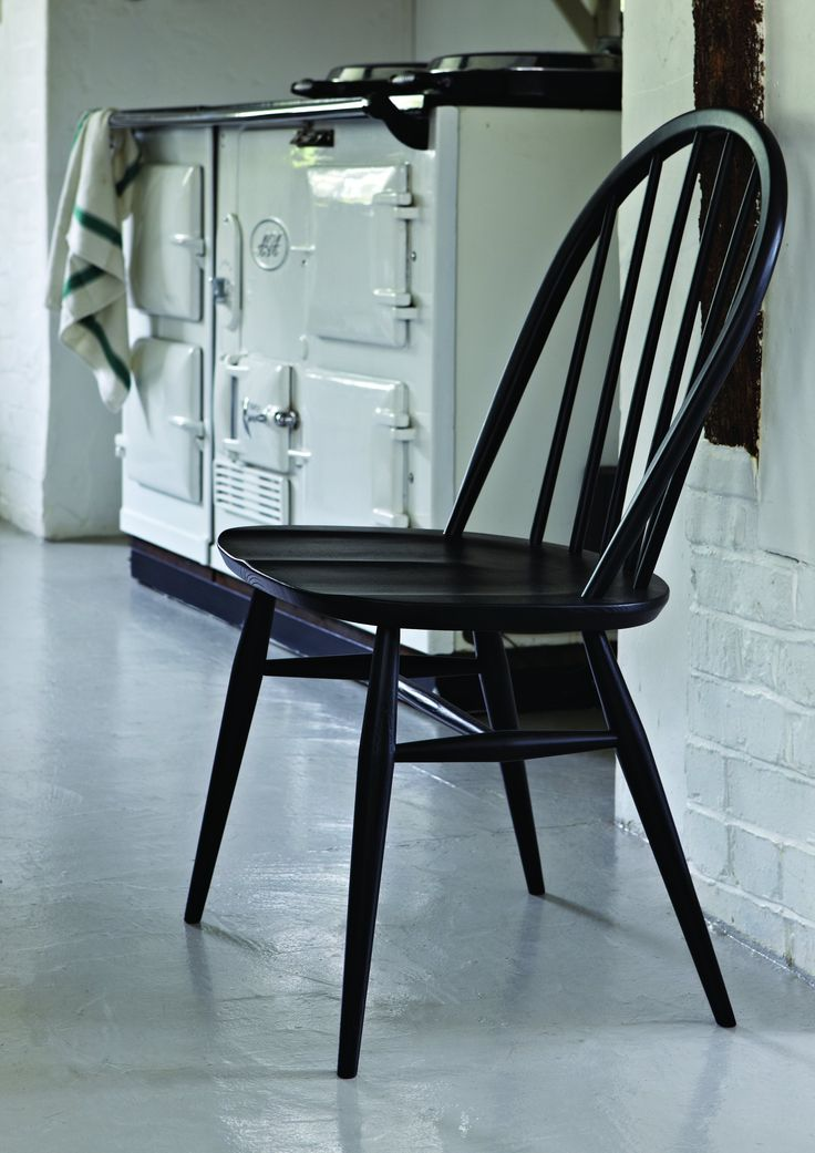 The classic ercol Windsor chair.