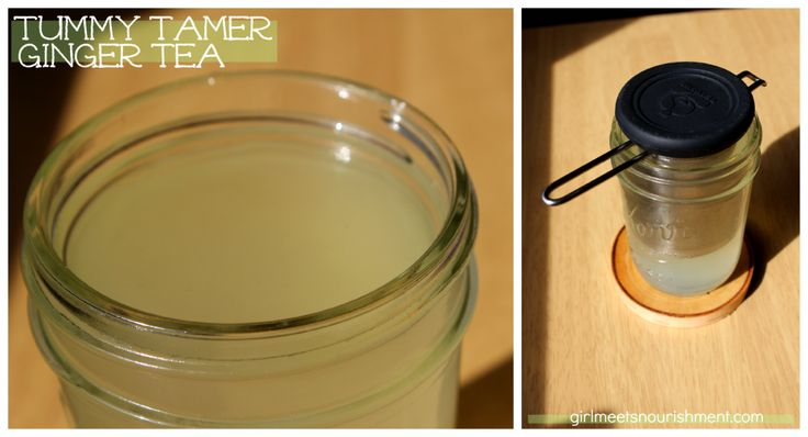 Tummy Tamer Ginger Tea & Health Benefits of Ginger