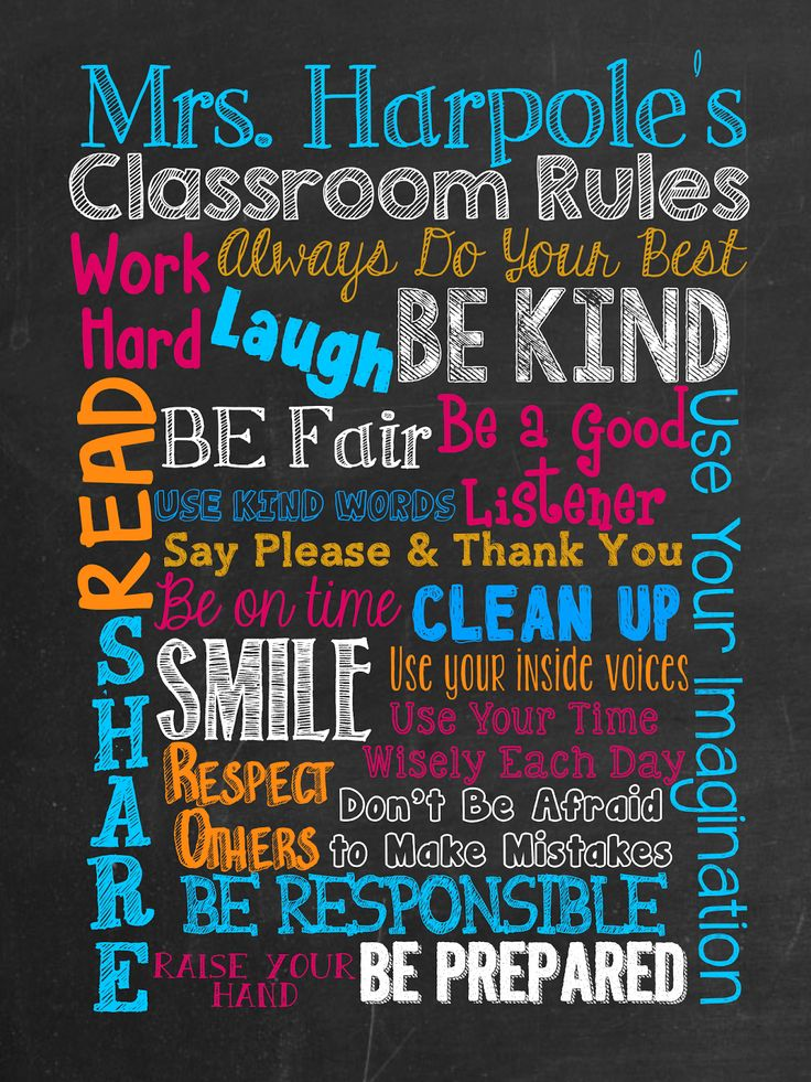 Classroom Decor On A Budget : Best class rules ideas on pinterest